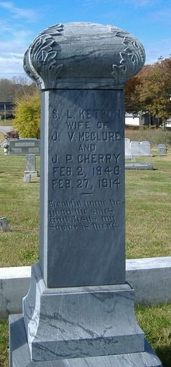 Susannah Lenora <I>Ketron</I> Cherry