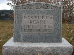 Maxine Lula Kearl