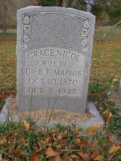 Grace <I>Nicol</I> Maphis
