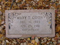 Mary T Coon
