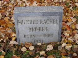 Mildred Rachel Bittle