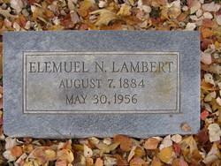 Elemuel Noah Lambert