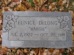 "Eunice ""Margie"" DeLong"