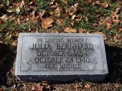 Julia <I>Adams</I> Bernhard