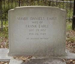 Mamie <I>Daniels</I> Earle