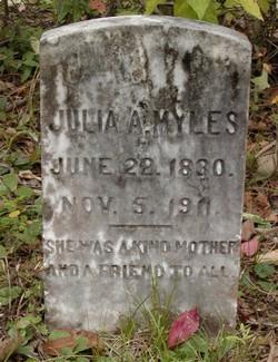 Julia A <I>Bryant</I> Myles