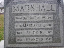 Barbara Ann <I>Winkleman</I> Marshall