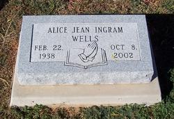 Alice Jean <I>Ingram</I> Wells