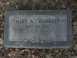 Mary A Chambers