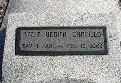 Sadie Venita <I>Ewalt</I> Canfield
