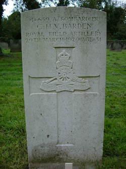 Charles H. V. Barden