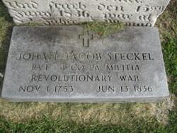 Pvt Johan Jacob Steckel