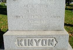 Harriet A <I>Seymour</I> Kinyon