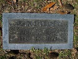 John E. Crosby