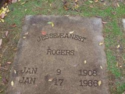 Jesse Eanest Rogers