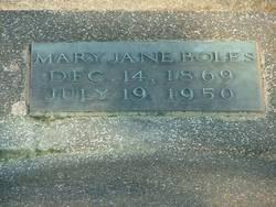 Mary Jane <I>Love</I> Boles