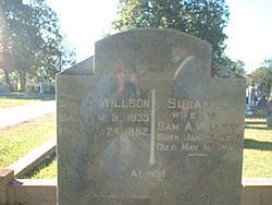 """Susan Elizabeth """"Lizzie"""" <I>Priest</I> Willson"""