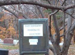 East Coventry Mennonite Cemetery