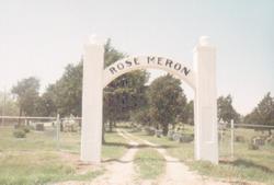 Rose Meron Cemetery