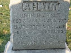 John Dawson Ahalt