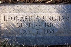 Leonard Paul Bingham