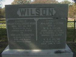 "William Sewell ""Goodhue"" Wilson"