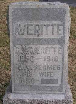 "Julia Virginia ""J V"" <I>Reames</I> Averitte"