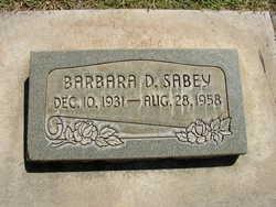 Barbara Delvarre Sabey