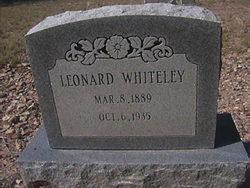 Leonard Whiteley