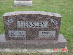 Naomi L <I>Stephens</I> Hensley