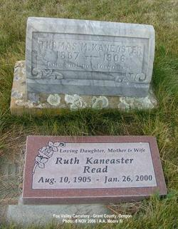 Ruth Gail <I>Kaneaster</I> Read
