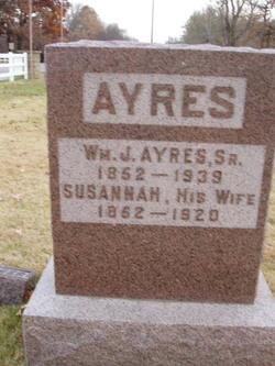 Susannah J. <I>Hawkins</I> Ayres