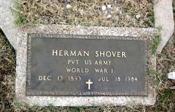 Pvt Herman Shover
