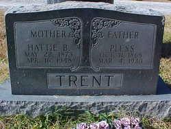 Hattie Mae <I>Livesay</I> Trent
