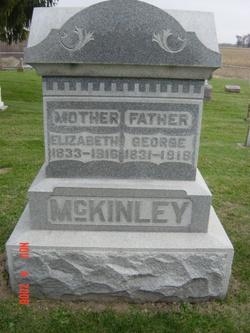 Mary Elizabeth <I>Reed</I> McKinley