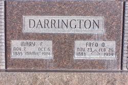 Fred Osmer Darrington