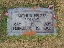 Arthur Pelzer Folmar