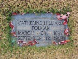 Catherine <I>Hilliard</I> Folmar