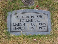 Arthur Pelzer Folmar, Jr