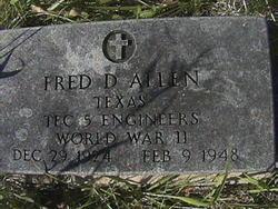 Fred D Allen