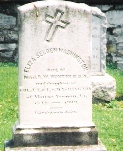 Eliza Selden <I>Washington</I> Hunter