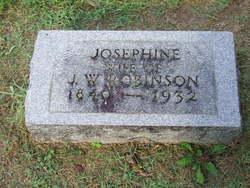 Josephine Eugenia <I>Trotter</I> Robison