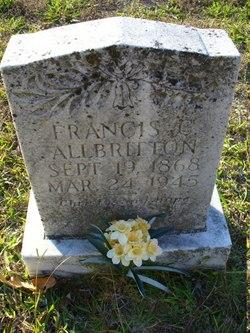 "Frances Camelle ""Mellie"" <I>Etheridge</I> Allbritton"