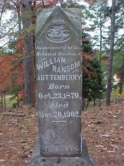 William Ransom Auttenberry