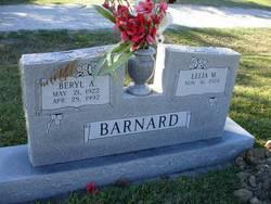 Beryl A Barnard