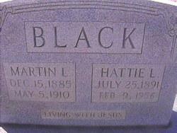 Hattie Lee <I>Brasfield</I> Black