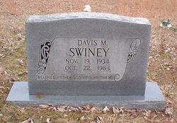 Davis M Swiney