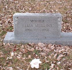 Eliza <I>Massingell</I> Mullins
