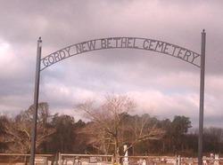 Gordy New Bethel Cemetery