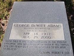 George DeWitt Adams